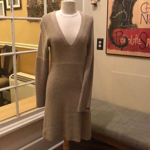 The North Face Tan Sweater Dress